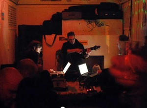 centrozoon performing at the waggon in Offenbach